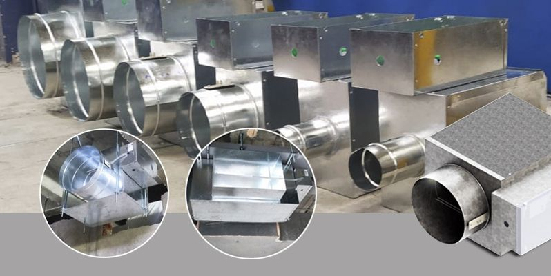 Cajas de volumen de aire variable L-CVAV