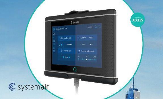 Systemair desarrolló un nuevo sistema de control