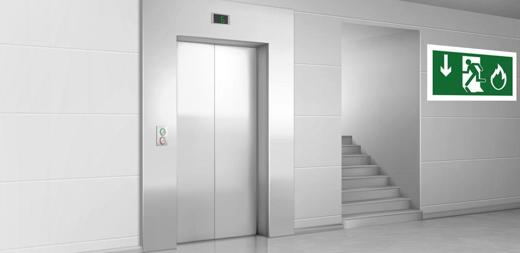 Presurización en escaleras