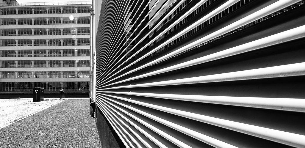 Arquitectura funcional de fachadas metálicas